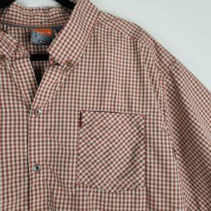 Merrell Shirts - Merrell Opti-Wick UPF 20+ Button-Front Shirt